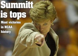 ... Vols Basketball Coach Pat Summitt Diagnosed with Early Onset Dimentia