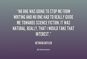 Octavia Butler Quotes