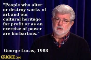 18 Unexpected (and Real) Quotes by Famous Figures-George Lucas
