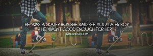 Click to get this he was skater boy Facebook Cover Photo