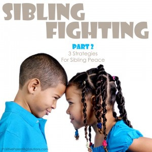 Three strategies for sibling peace.