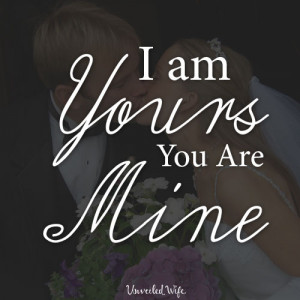 am yours you are mine