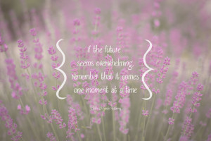 Quotes About Change: One Moment At A Time