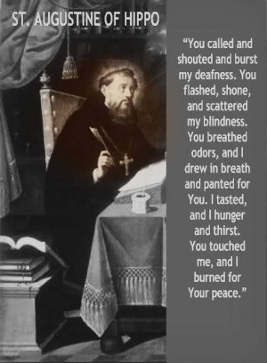 St. Augustine of Hippo...