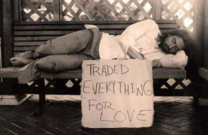 ... first blush fading? Lost that loving feeling? Love is not all around
