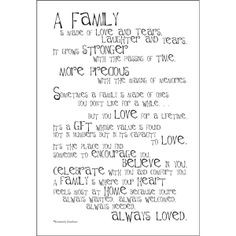 poem about my family | VERSE49-E Family - Poem for a Page - Stickers ...