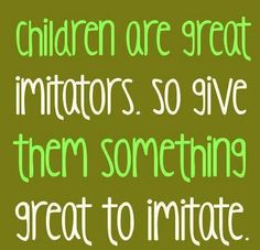 Lead by example #parenting #papersalt #quote #parents {pinned by http ...