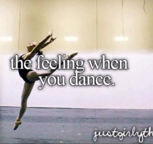 love to dance.