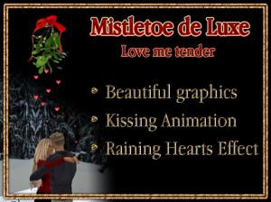 Kiss Under The Mistletoe Quotes Kissing under the mistletoe de