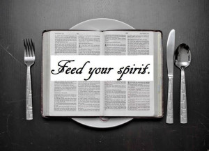 FEED YOUR SPIRIT.