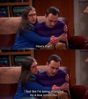 The Big Bang Theory Season 6 : Sheldon and Amy