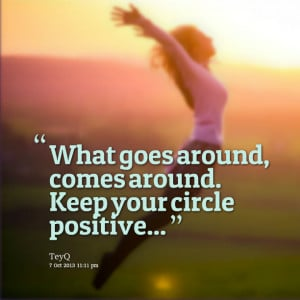 what goes around comes back around essay It is wise to realize that whatever we do in life, will come back to us one day if  we do  what goes around, comes around : (short essay)  a good deed  always comes around an essay on what goes around comes around.