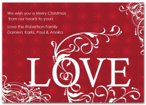 Love Heart Merry Christmas Quotes
