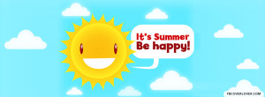 Click below to upload this Its Summer Be Happy Cover!
