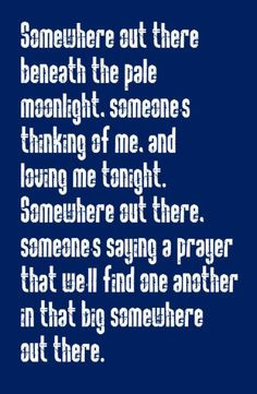 James Ingram & Linda Ronstadt - Somewhere Out There - song lyrics ...