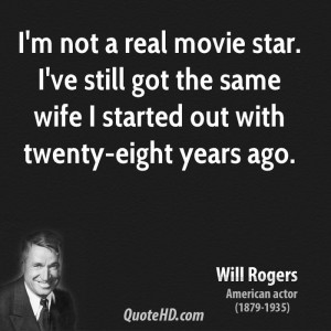Will Rogers Funny Quotes