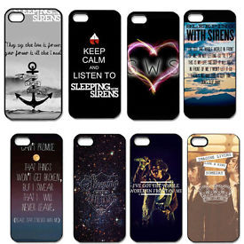 Sleeping With Sirens Quote For iPhone 4/4S 5/5S 5C Hard Snap On Case ...