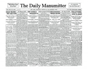 The Daily Manumitter