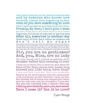 Quotes from Gone with the Wind