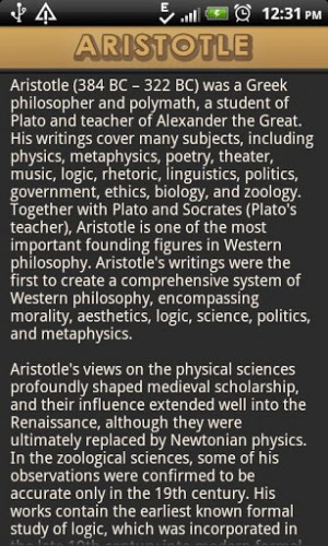 ... all quotes and sayings by aristotle aristotle was a greek philosopher