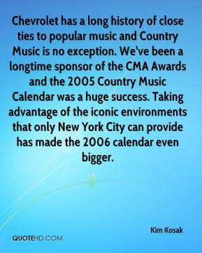 has a long history of close ties to popular music and Country Music ...