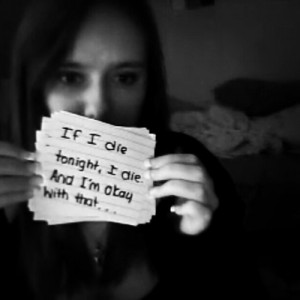 goodbye depressed depression suicide video notes StayStrong imadeit ...