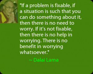 Daily Positive Thoughts – Quote from Dalai Lama