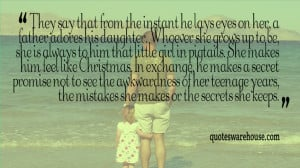 Father and Daughter Quotes