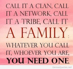 Amazing family quote