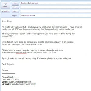 Messages Example, Internet Site, Website, Job Search, Samples Farewell ...