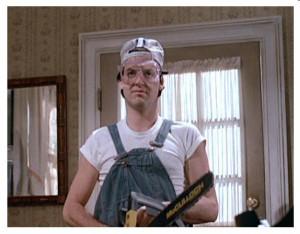 mr mom movie michael keaton chainsaw