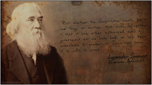 Lysander Spooner - The Constitution by Subject416