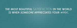 Appreciation Quote Facebook Cover