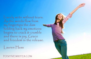 ... joy, Grace and freedom in the release. It is overwhelmingly cathartic