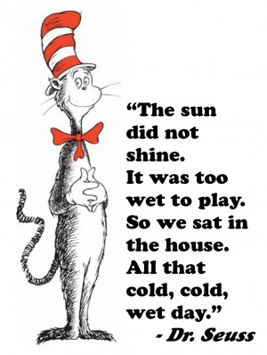 Cat In The Hat Quotes Reading The cat and the hat with a