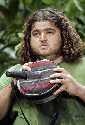 Jorge Garcia...Hurley from Lost.