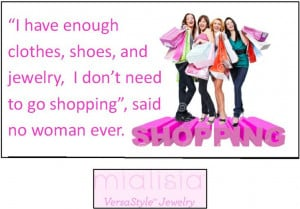 Funny quote about shopping