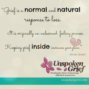 Keeping Grief Inside