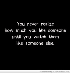 Dating someone crush on someone else