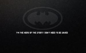 Batman quotes Batman Logo wallpaper background