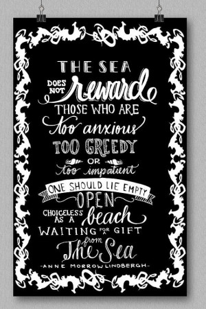 Anne Morrow Lindbergh Quote Art Print The by HandPulledSilkScreen, $15 ...