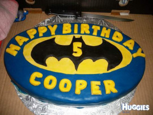 Batman Birthday Cakes for Boys