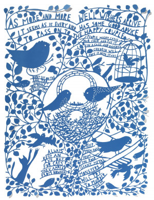 Rob Ryan - As More and More Well Wishers Arrive - courtesy of TAG Fine ...