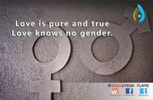 Love is pure and true