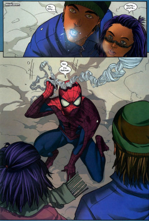 Spider-Man says I'm Batman