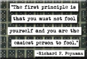 Feynman Quote Magnet (no.159)