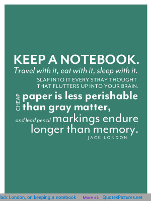 keeping a notebook motivational inspirational love life quotes sayings ...