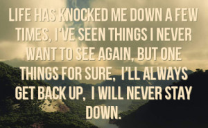 color 91e482 never back down quotes never back down quotes