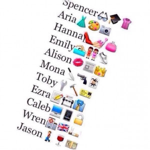 cute, funny, pretty little liars, emoji, lovely, quotes, pll, true