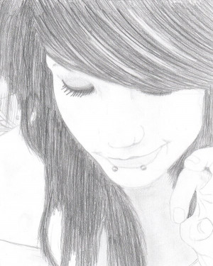 Emo Girl by Newklear122 by GenesisBenton
